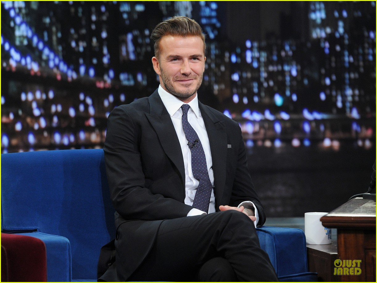 david beckham rocks yolk for egg russian roulette on fallon 083045167