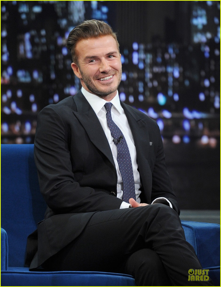 david beckham rocks yolk for egg russian roulette on fallon 09