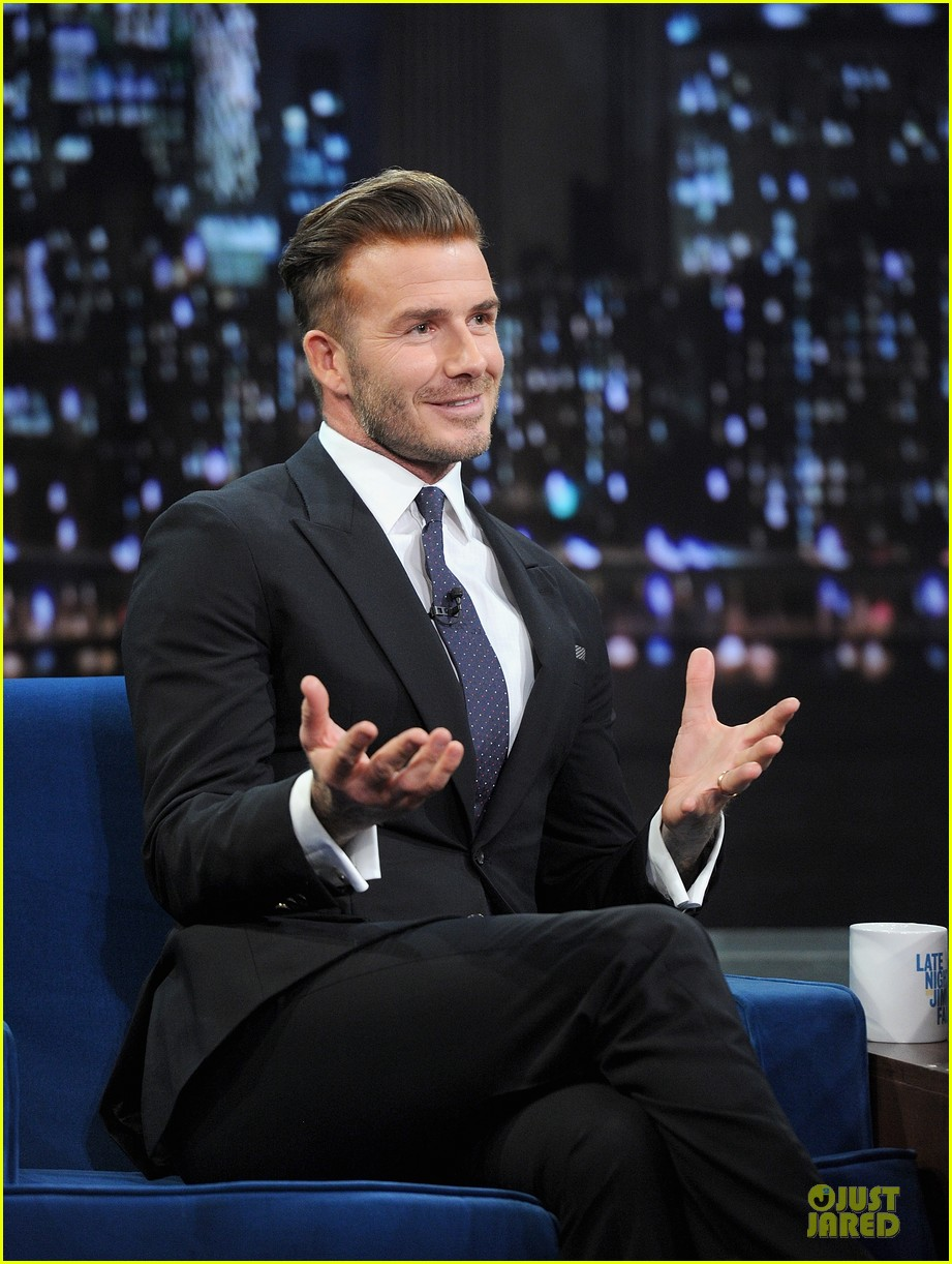 david beckham rocks yolk for egg russian roulette on fallon 133045172