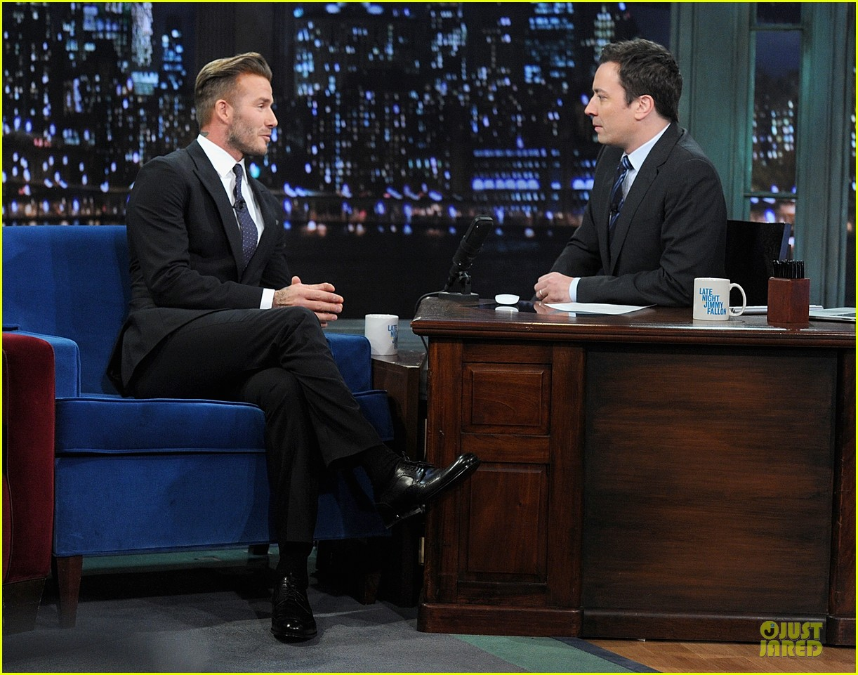 david beckham rocks yolk for egg russian roulette on fallon 193045178