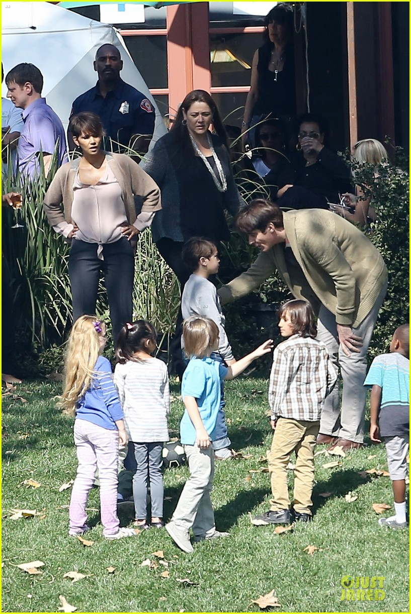 halle berry spends valentines day filming extant with goran visnjic 133053734