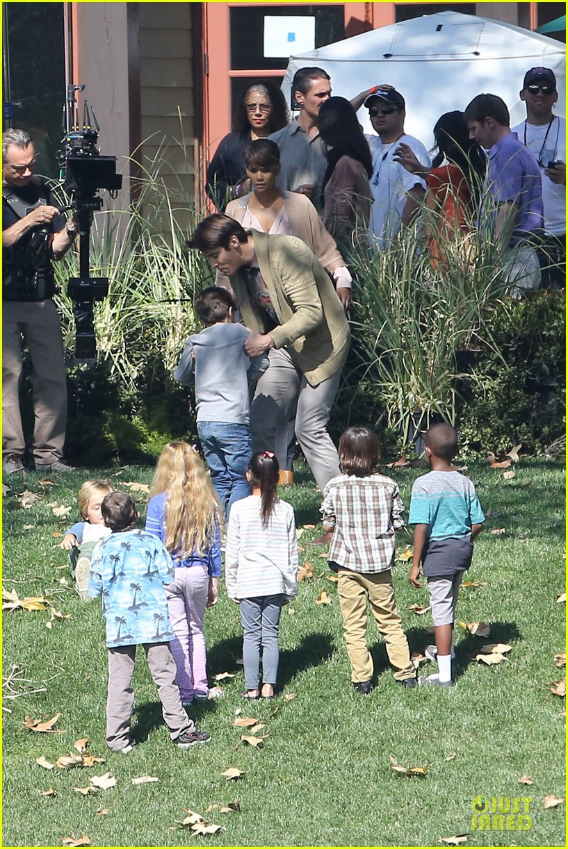 halle berry spends valentines day filming extant with goran visnjic 213053742