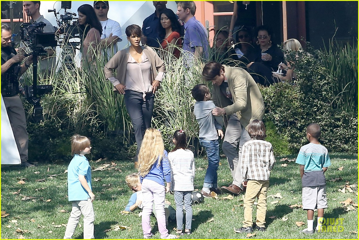 halle berry spends valentines day filming extant with goran visnjic 273053748