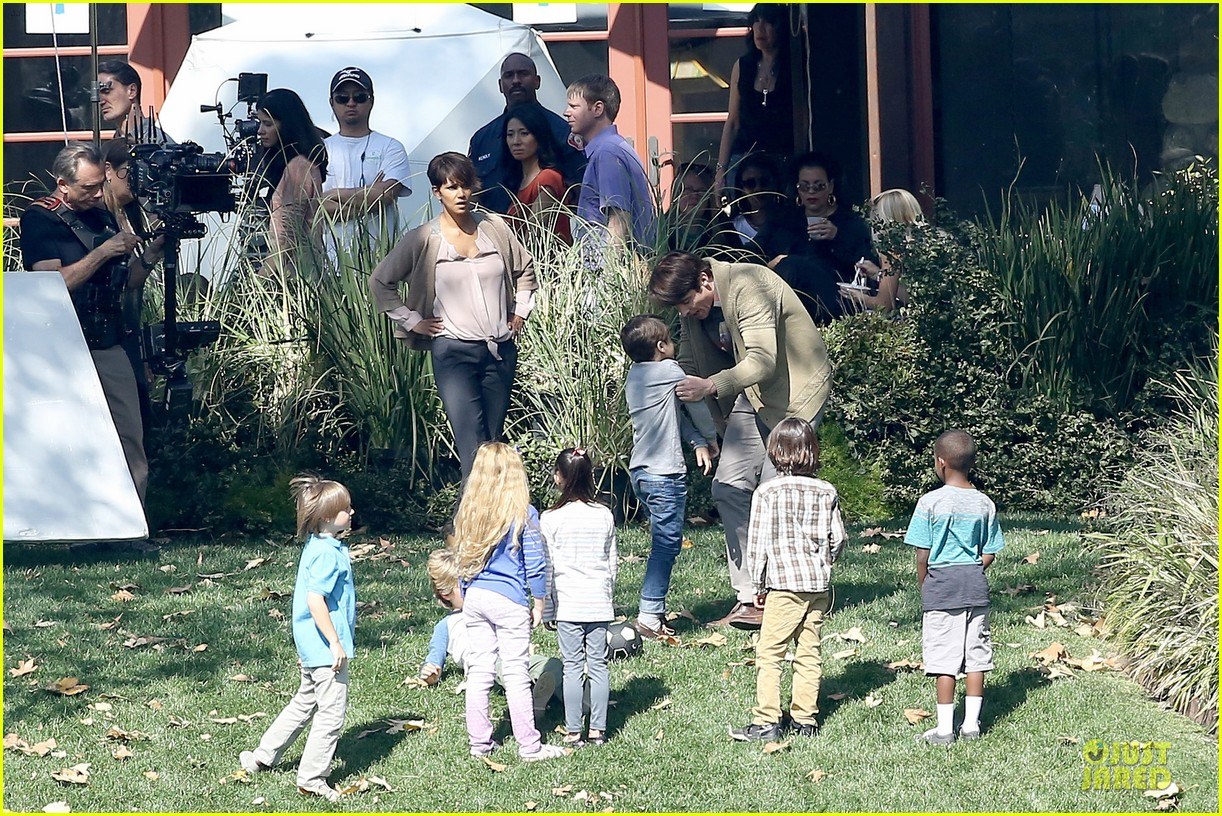 halle berry spends valentines day filming extant with goran visnjic 283053749