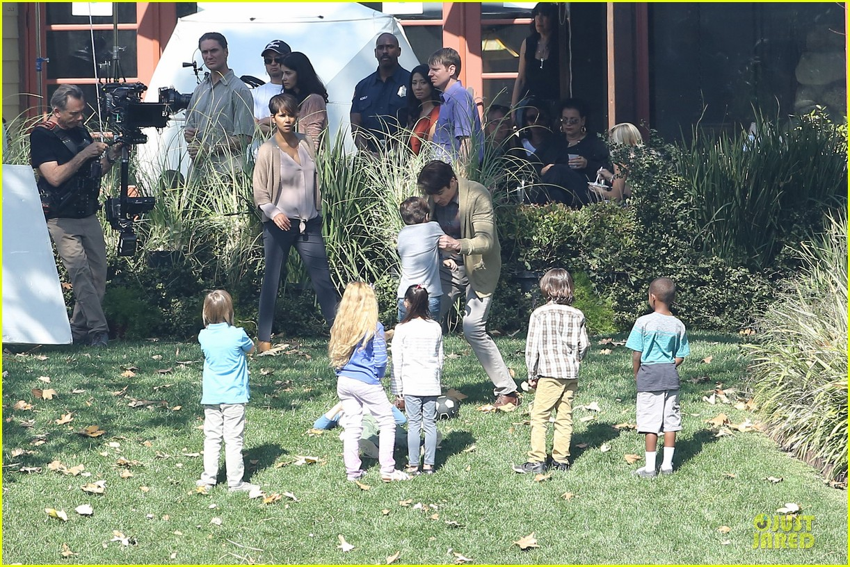 halle berry spends valentines day filming extant with goran visnjic 313053752