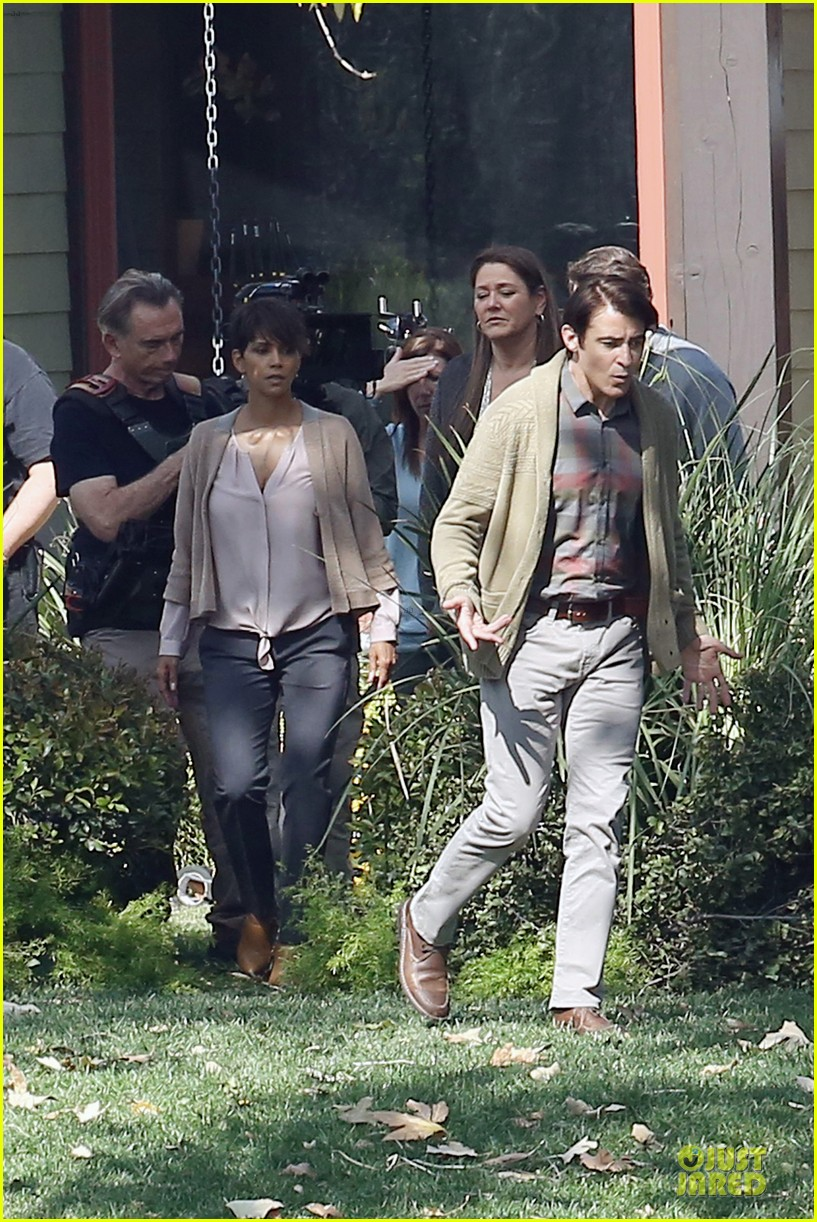 halle berry spends valentines day filming extant with goran visnjic 323053753