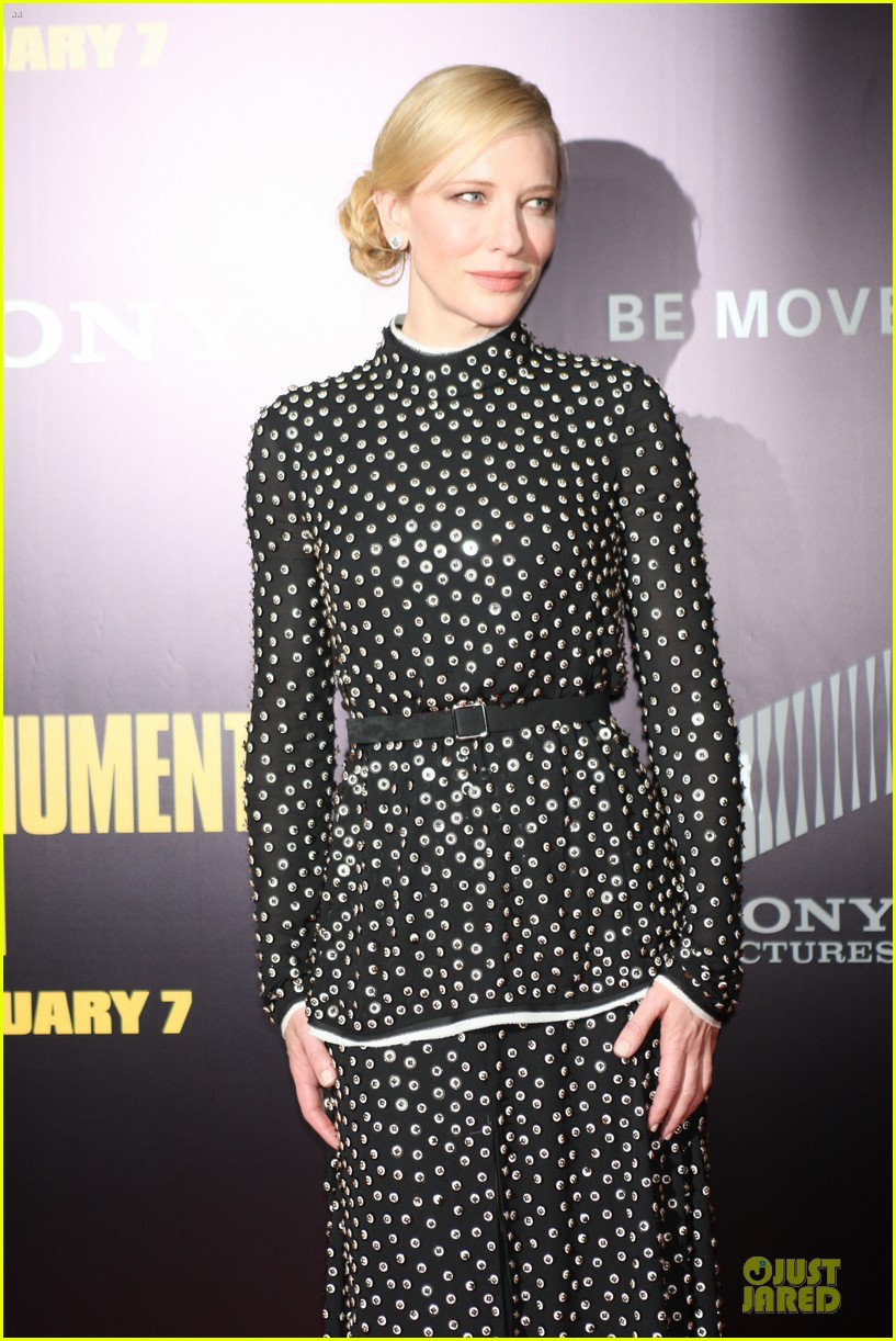 cate blanchett matt damon monuments men nyc premiere 123047706