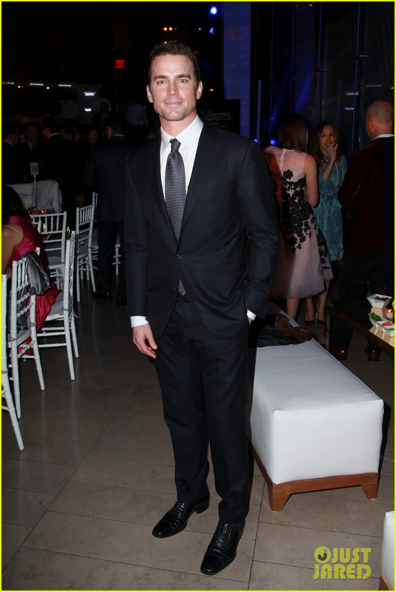matt bomer duets with bryan lourds daughter billie on stage at american songbook gala 013051332