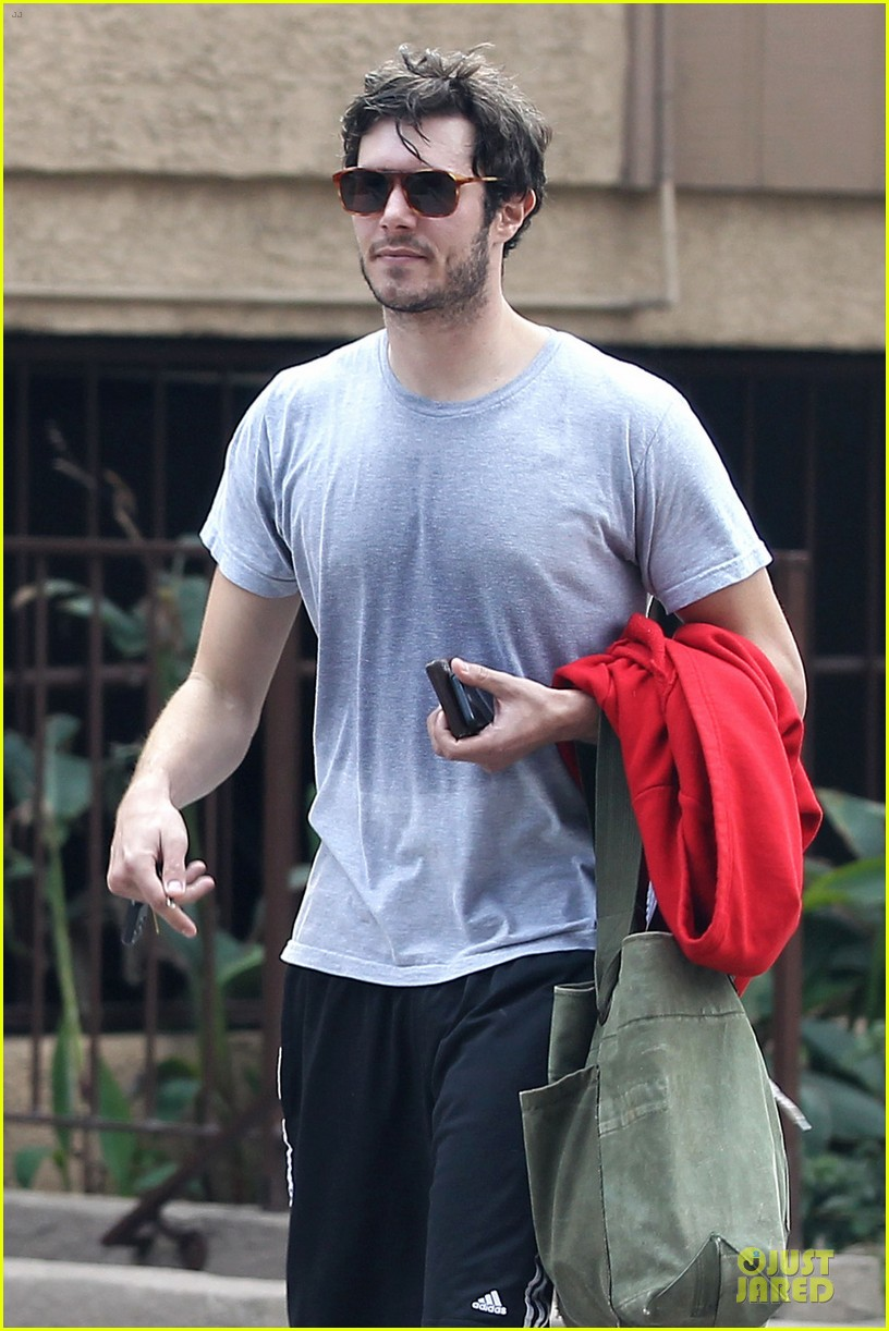 adam brody steps out with ring after wedding rumors 043055873