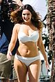 kelly brook frolicks on the beach with boyfriend david mcintosh 02
