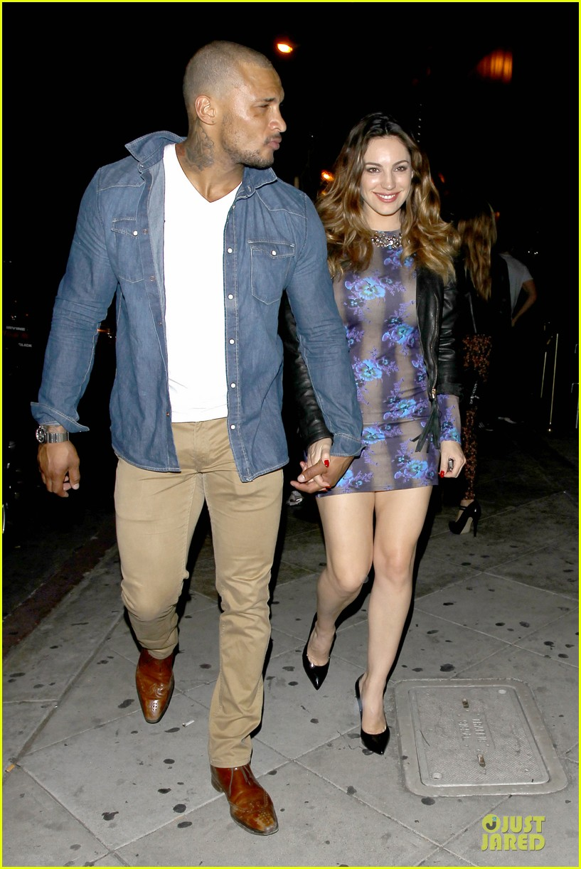 kelly brook brook mcintosh hold hands at 1 oak nightclub 093053856