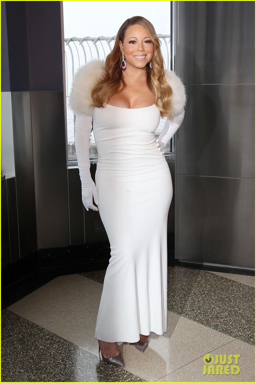 mariah carey lights empire state building for valentines day wedding event 153052916