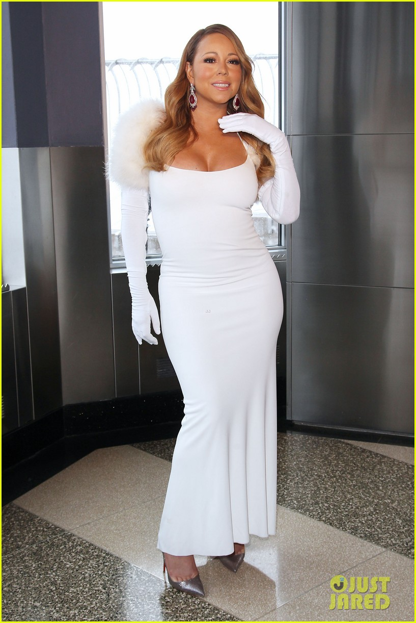 mariah carey lights empire state building for valentines day wedding event 173052918