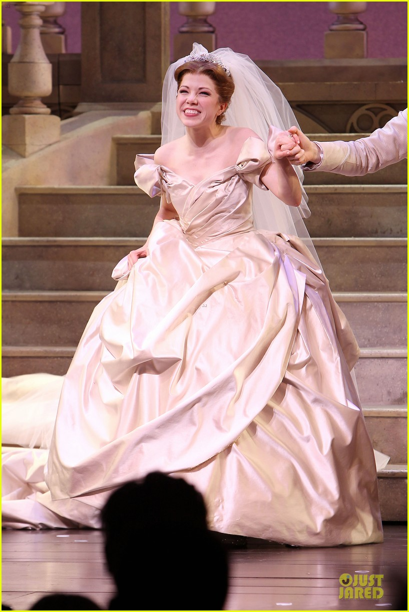 carly rae jepsen dons wedding dress for cinderella curtain call 013047792