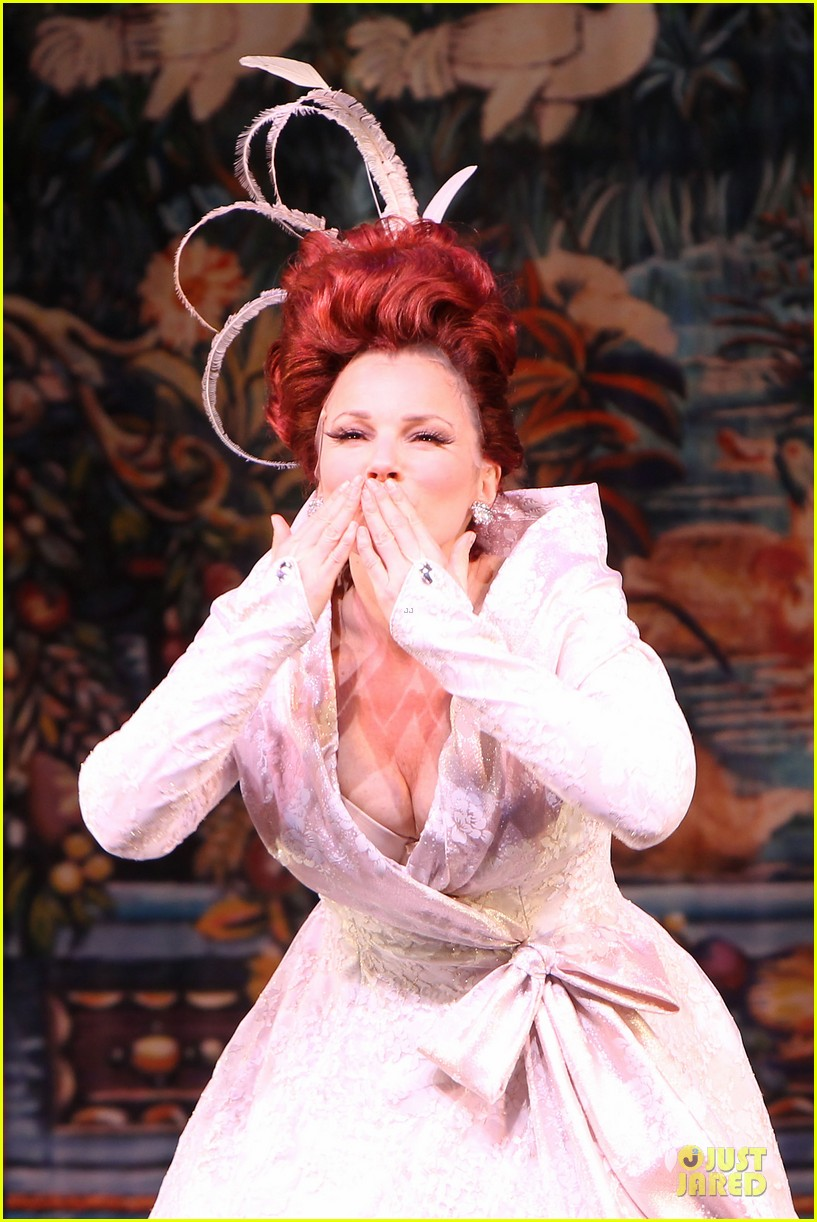 carly rae jepsen dons wedding dress for cinderella curtain call 04