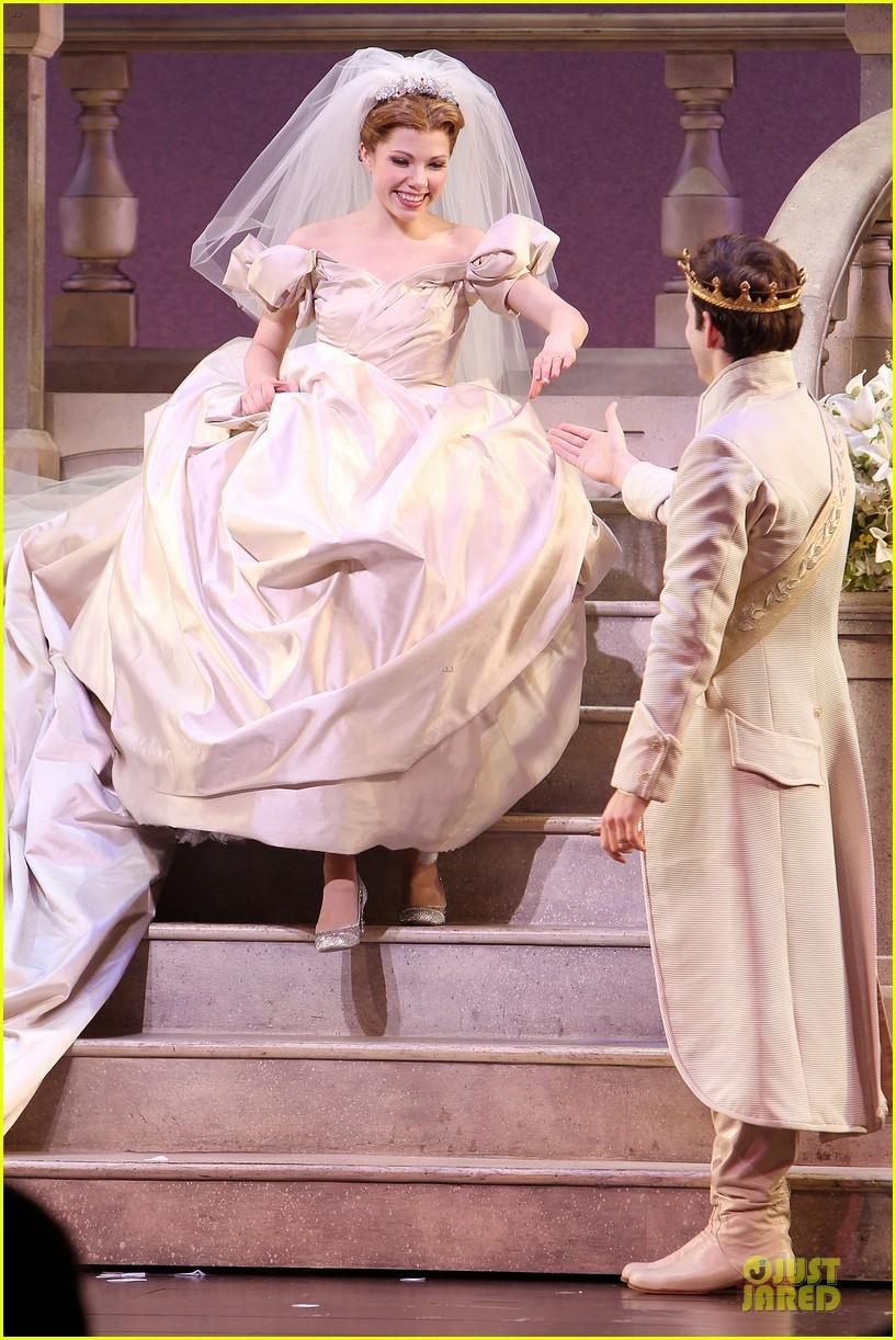 carly rae jepsen dons wedding dress for cinderella curtain call 123047803