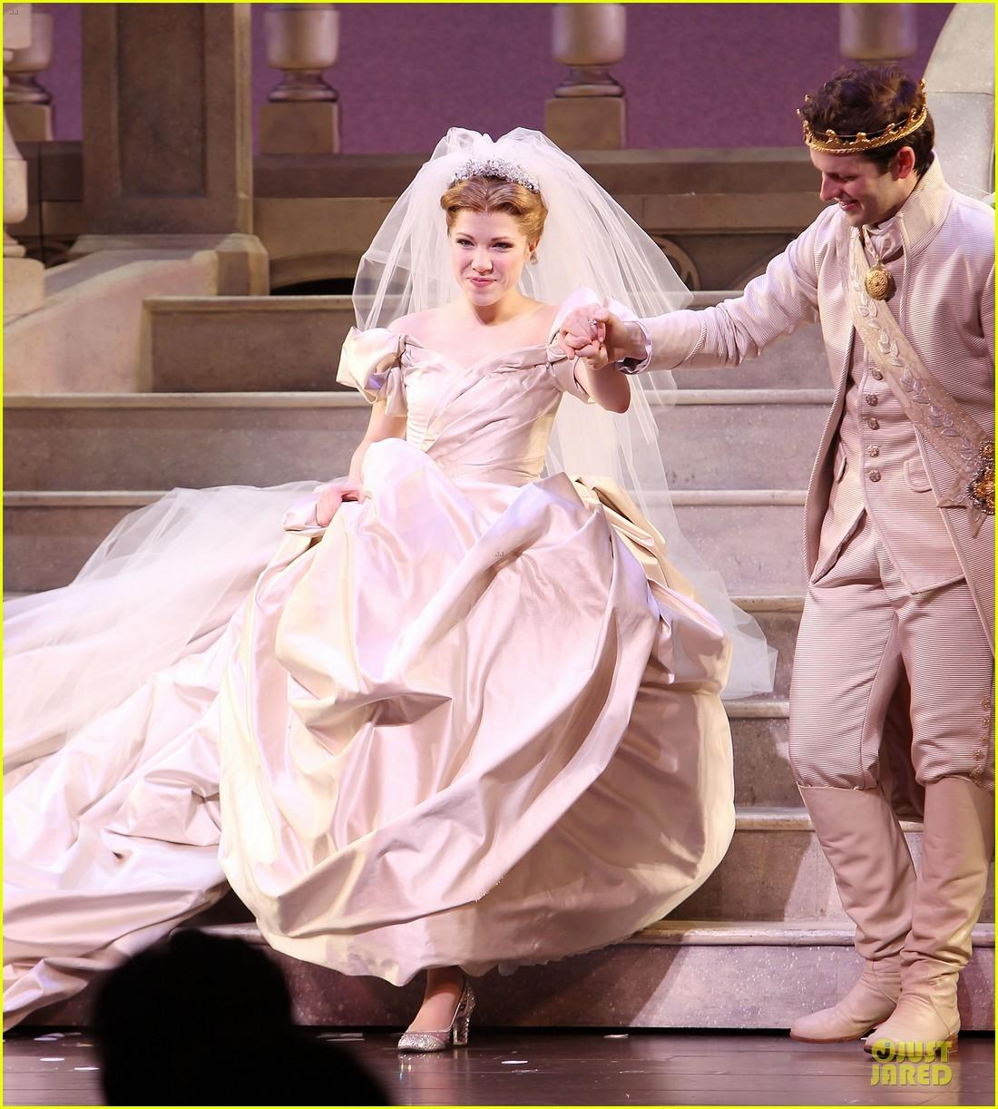 carly rae jepsen dons wedding dress for cinderella curtain call 133047804