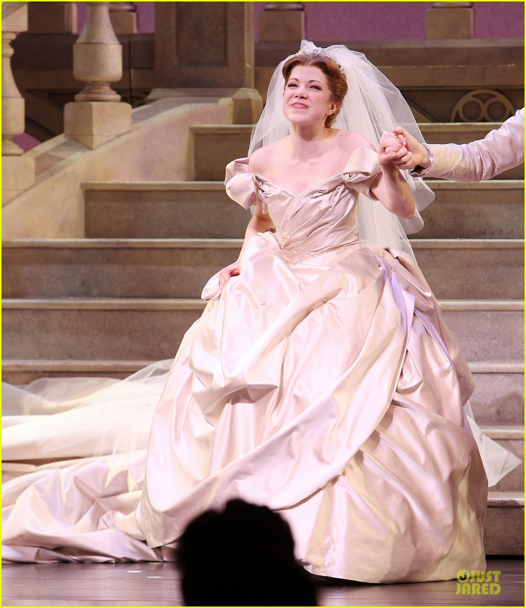 carly rae jepsen dons wedding dress for cinderella curtain call 143047805