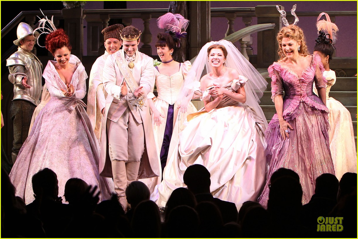 carly rae jepsen dons wedding dress for cinderella curtain call 173047808