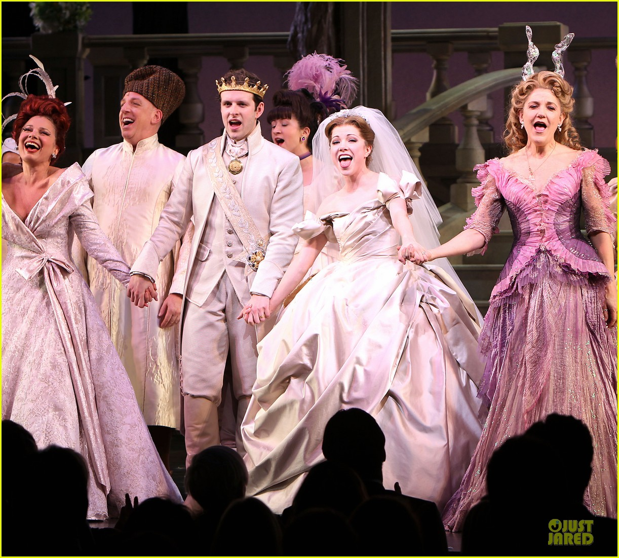 carly rae jepsen dons wedding dress for cinderella curtain call 18