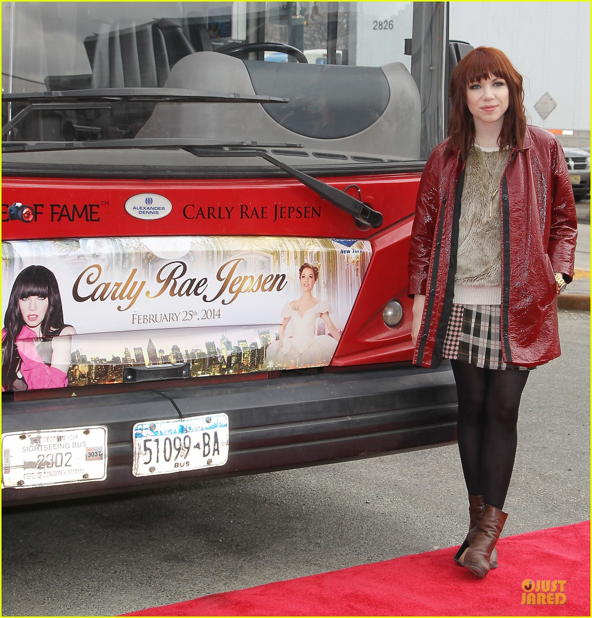 carly rae jepsen honoree at gray line ride of fame event 143060503