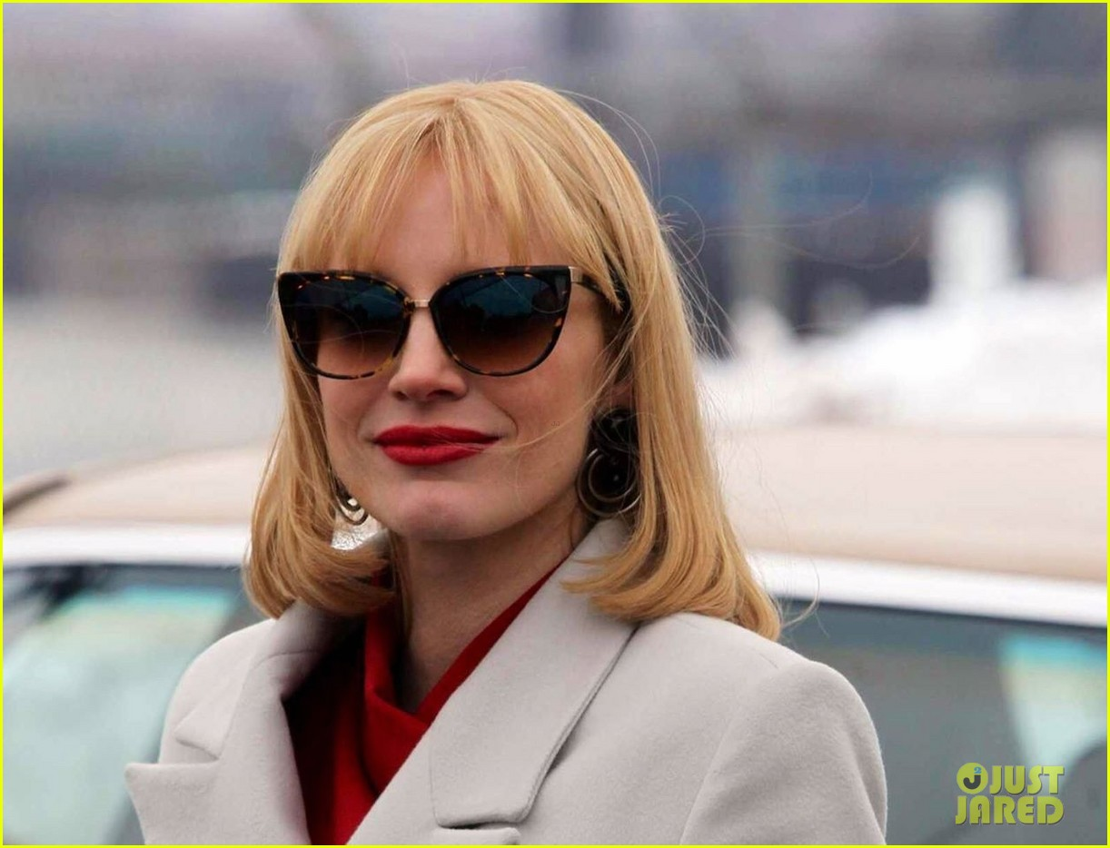 jessica chastain posts most violent year sneak peek pic after wrapping filming 013055712