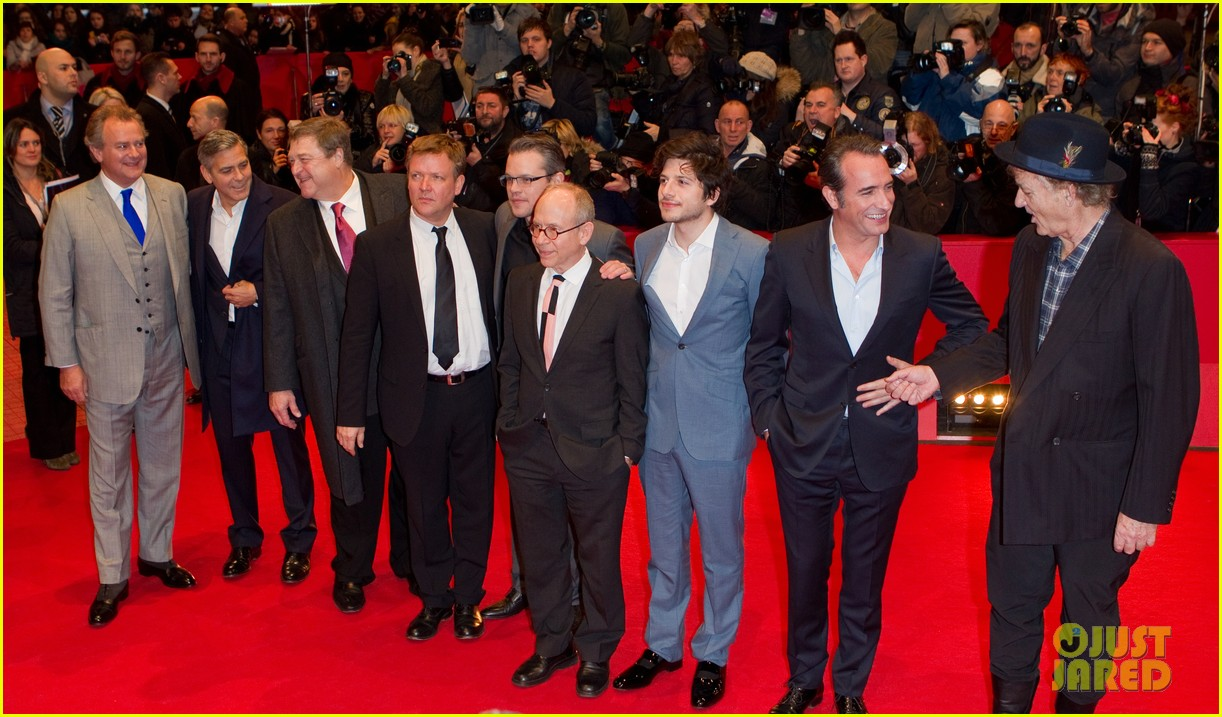 george clooney matt damon premiere monuments men at berlinale festival 043049735