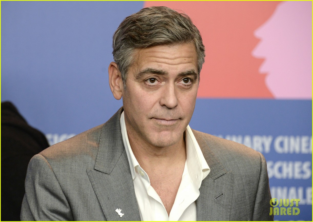 george clooney monuments men cast do the conga 05