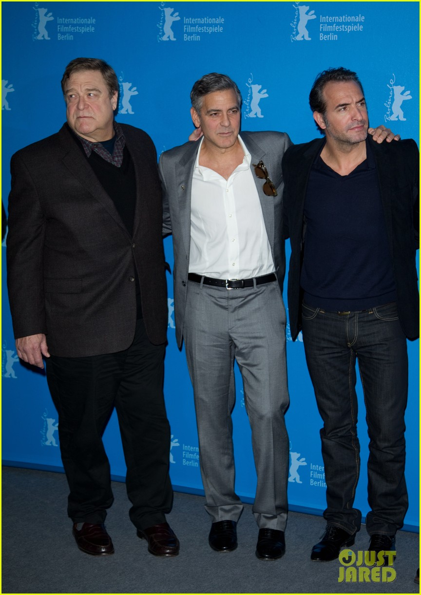 george clooney monuments men cast do the conga 113049616