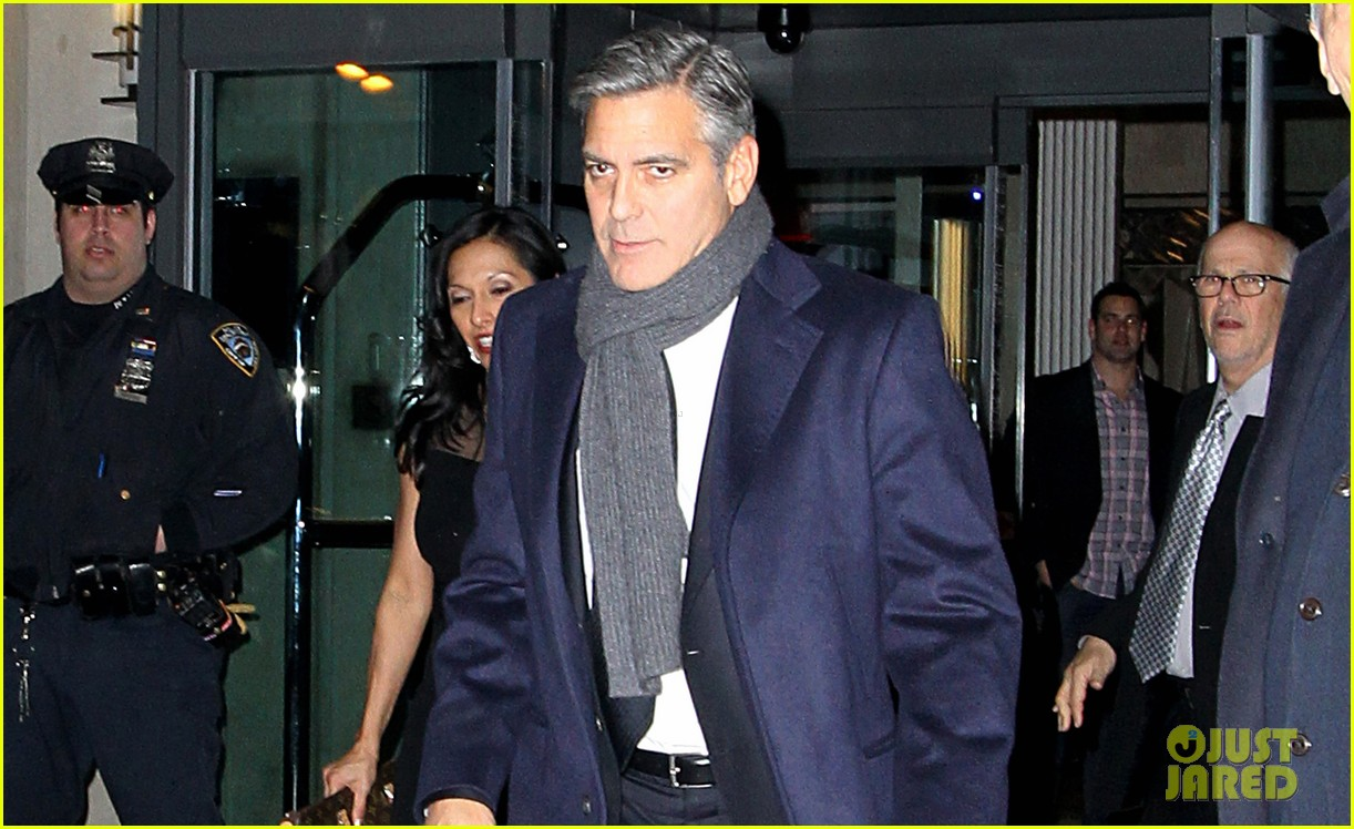 george clooney i have no fight with leonardo dicaprio 01