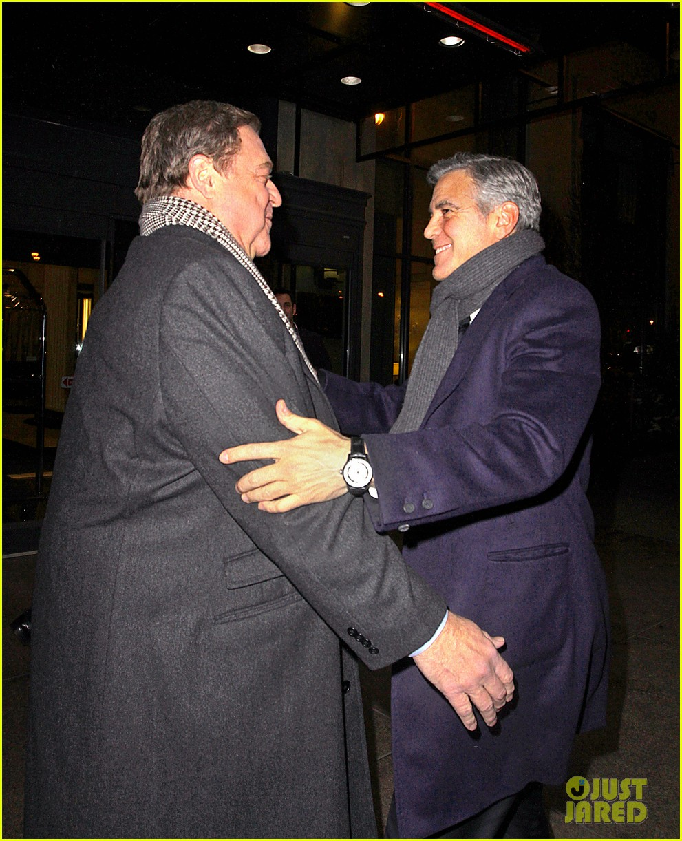 george clooney i have no fight with leonardo dicaprio 04