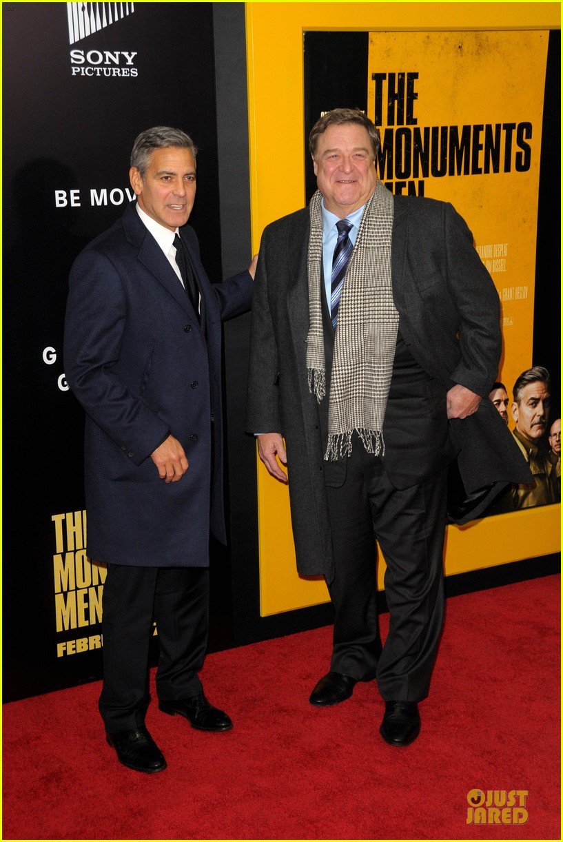 george clooney monuments men nyc premiere 013047669