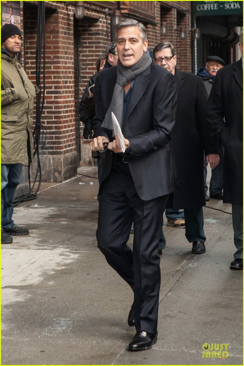 george clooney monuments men nyc premiere 053047673