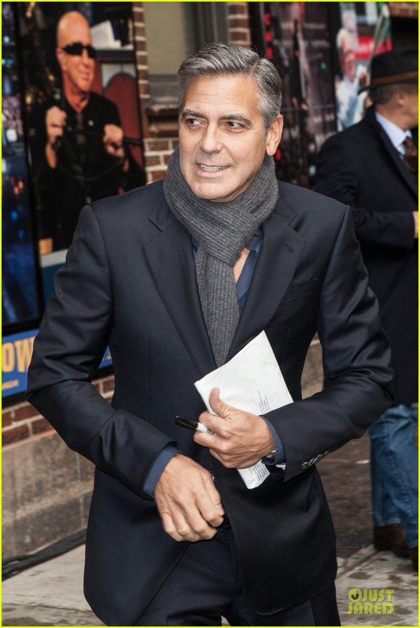 george clooney monuments men nyc premiere 073047675