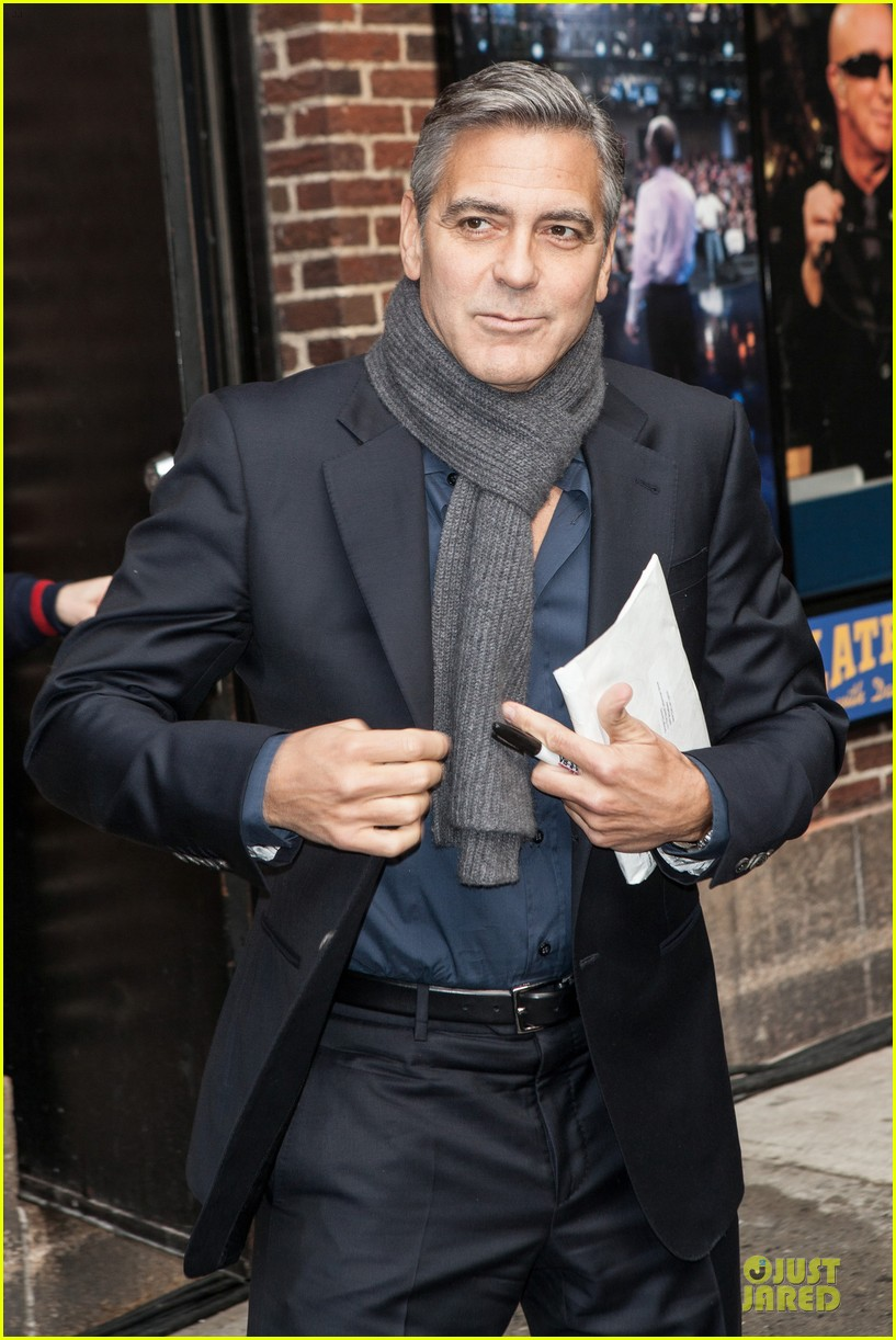 george clooney monuments men nyc premiere 103047678