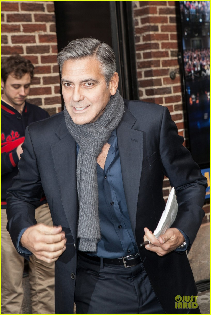 george clooney monuments men nyc premiere 113047679