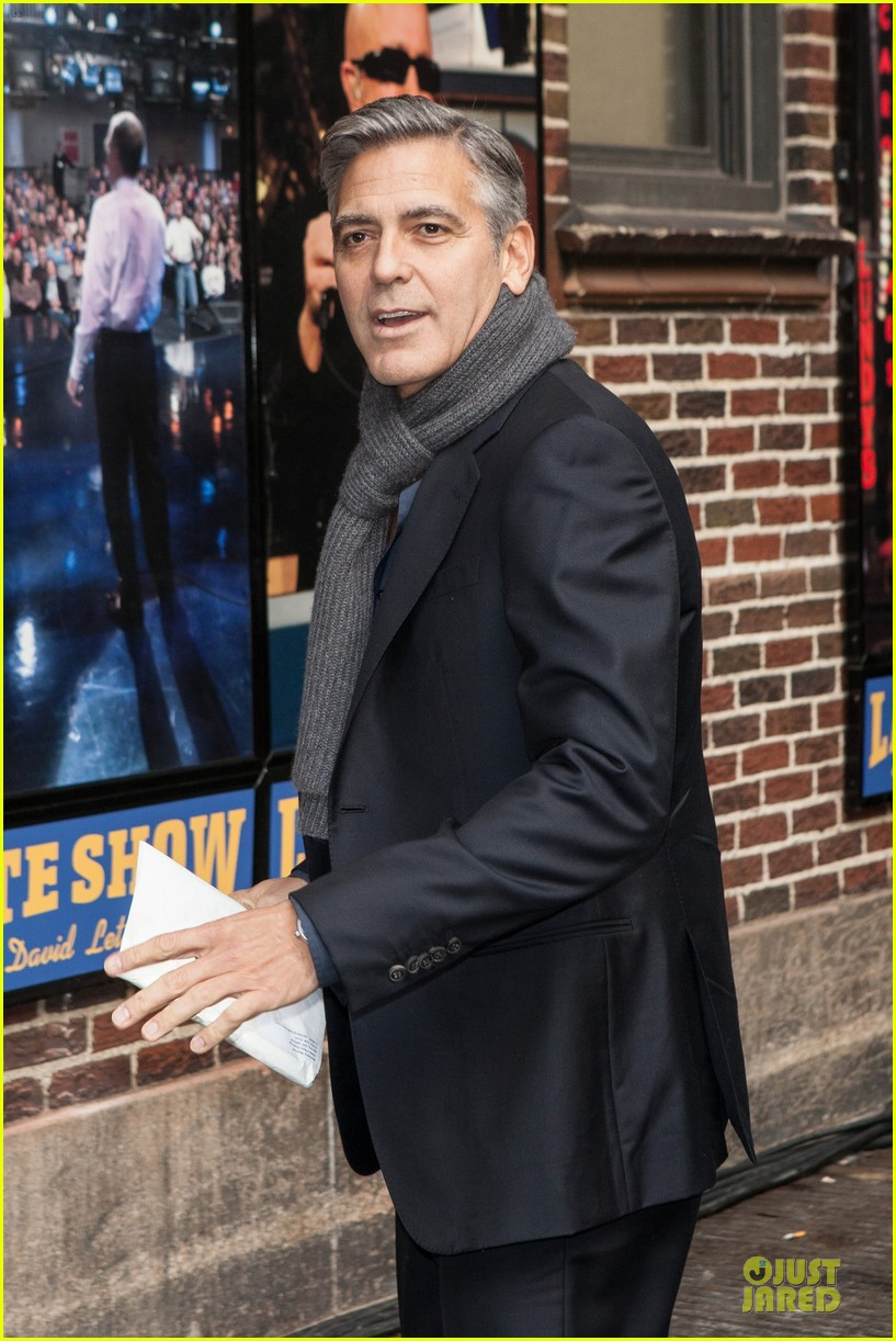 george clooney monuments men nyc premiere 143047682
