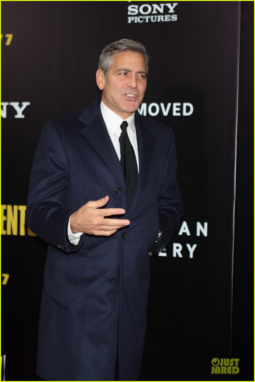 george clooney monuments men nyc premiere 183047686