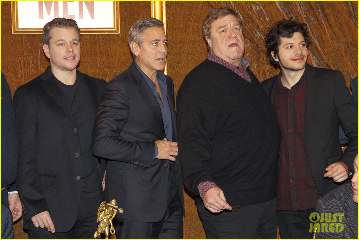 george clooney matt damon bring monuments to paris 313052424