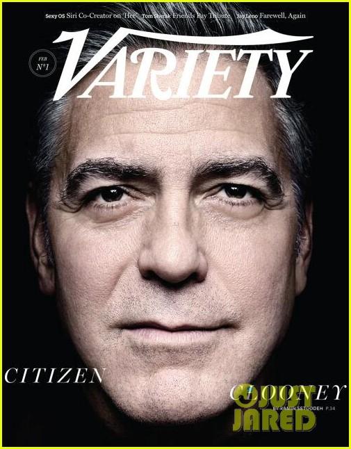 george clooney covers variety 013047360