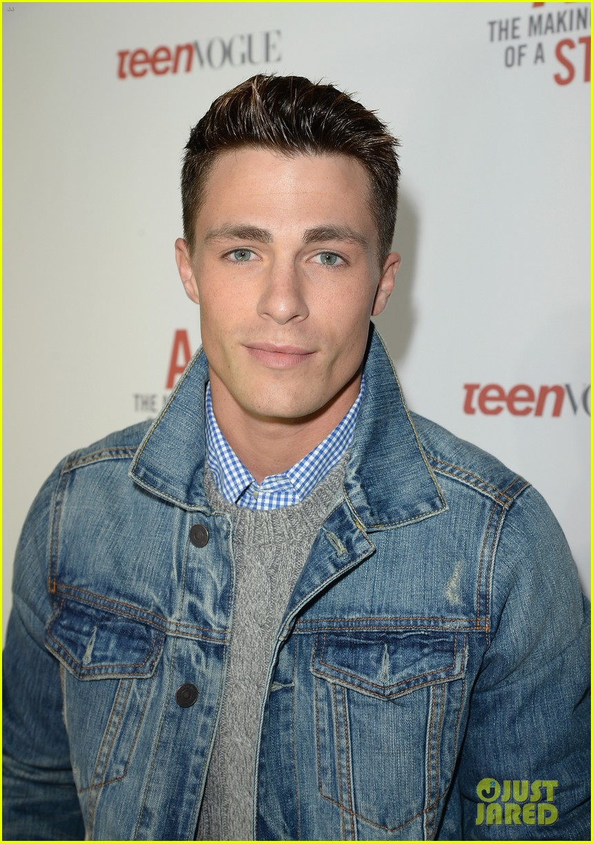 colton haynes steven r mcqueen ambercrombie fitch making of star sping 2014 campaign party 043059085