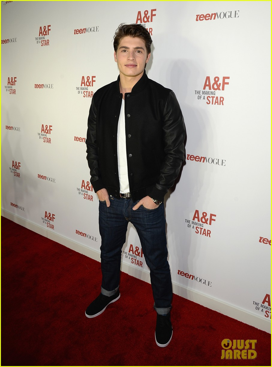 colton haynes steven r mcqueen ambercrombie fitch making of star sping 2014 campaign party 103059091