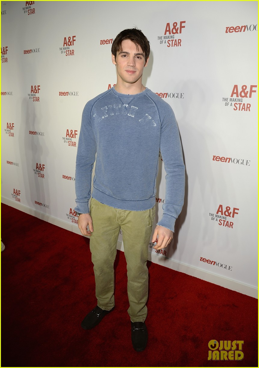 colton haynes steven r mcqueen ambercrombie fitch making of star sping 2014 campaign party 13