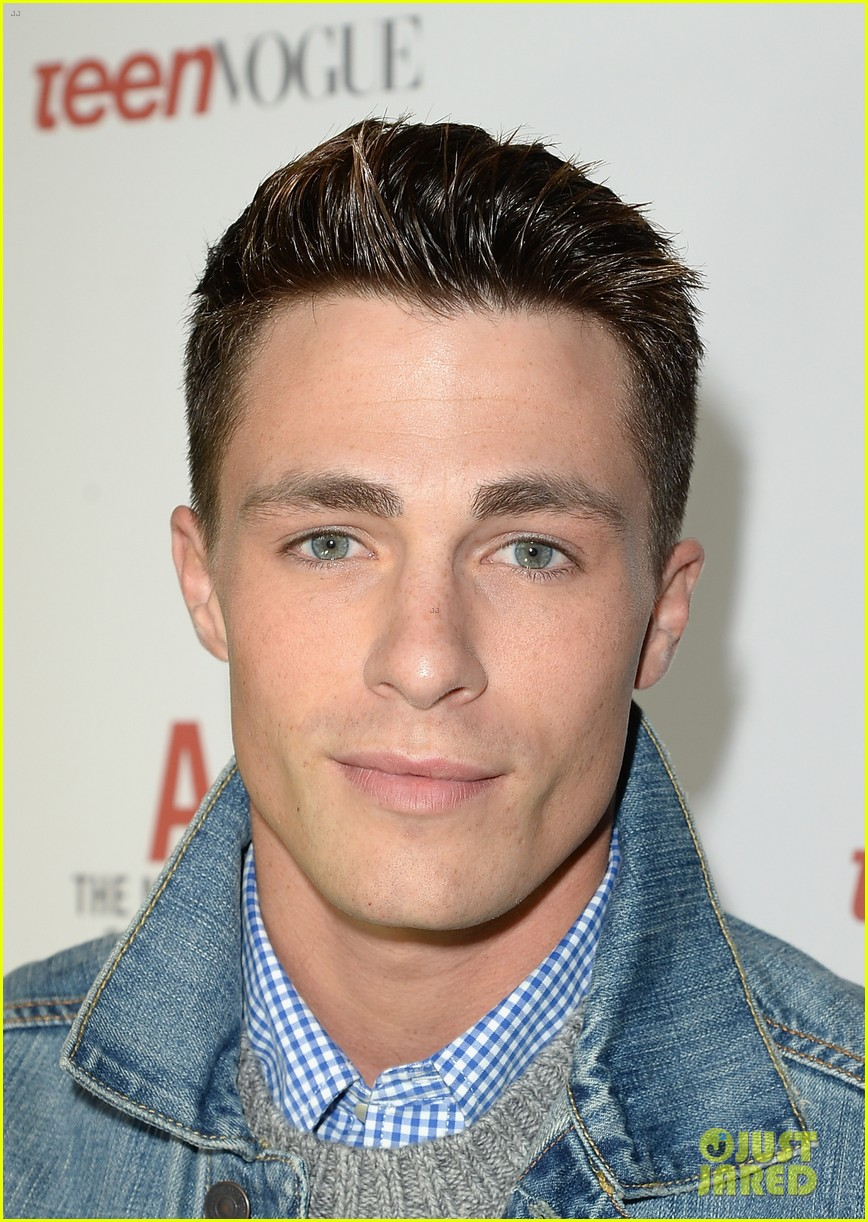 colton haynes steven r mcqueen ambercrombie fitch making of star sping 2014 campaign party 19