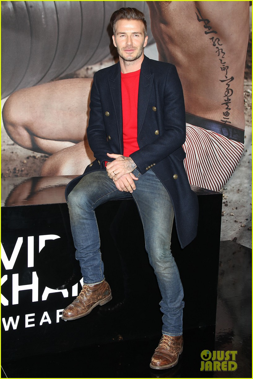 david beckham promotes hm body wear collection nyc 01