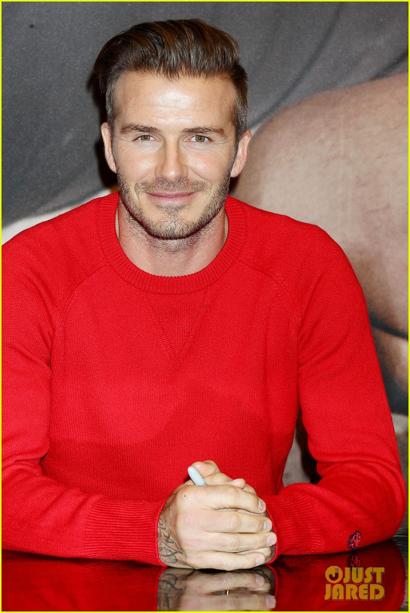 david beckham promotes hm body wear collection nyc 043045540