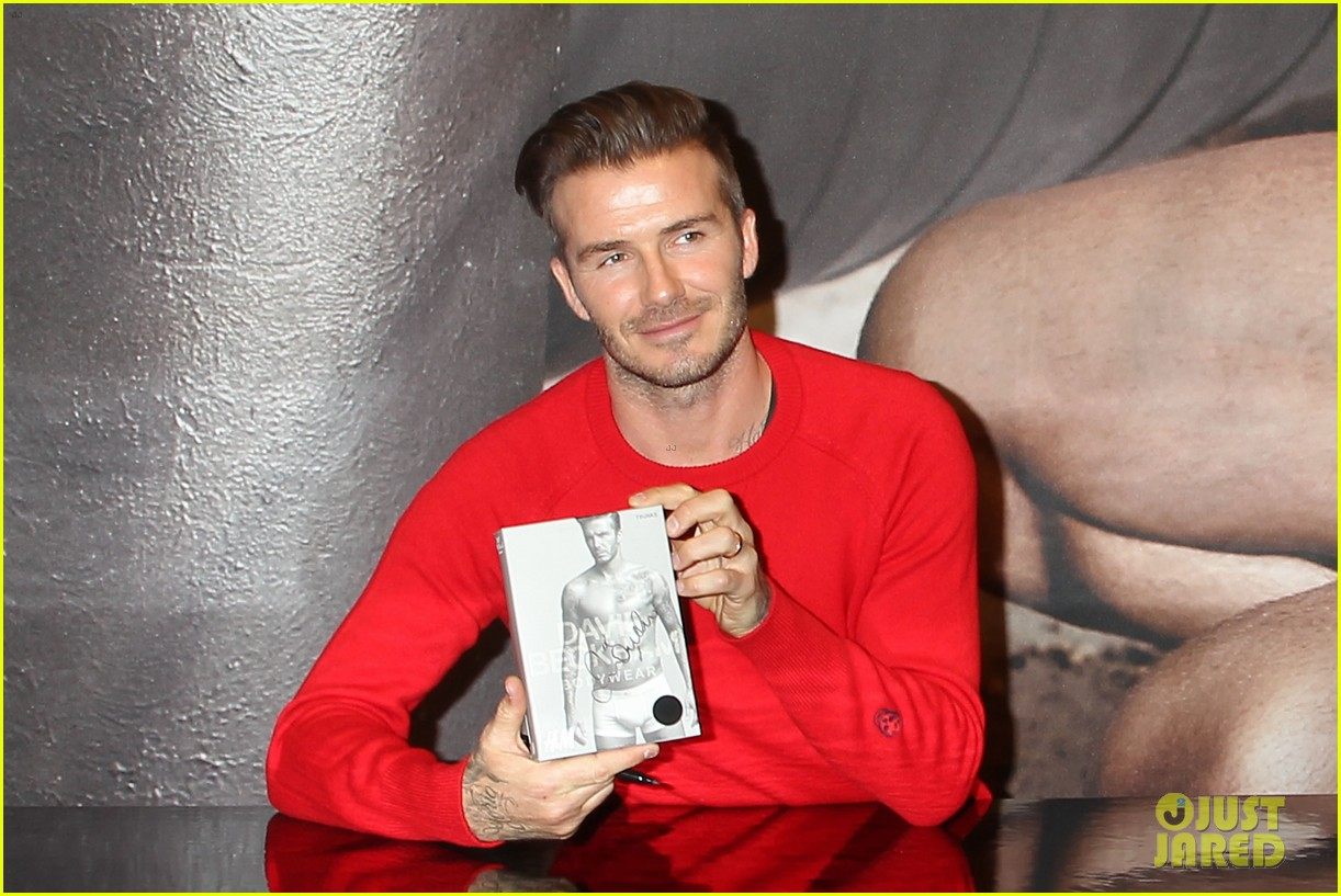 david beckham promotes hm body wear collection nyc 053045541
