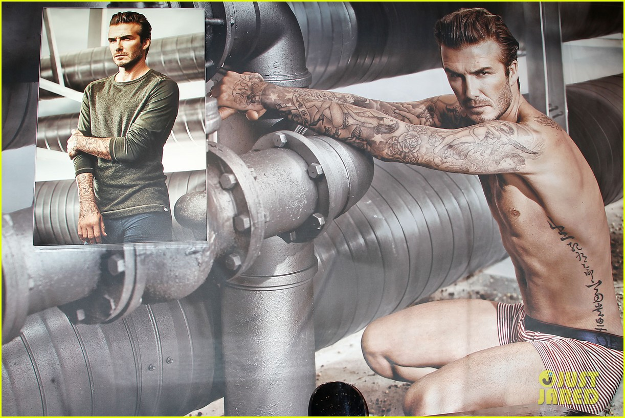 david beckham promotes hm body wear collection nyc 063045542