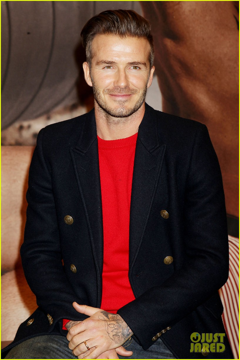 david beckham promotes hm body wear collection nyc 133045549