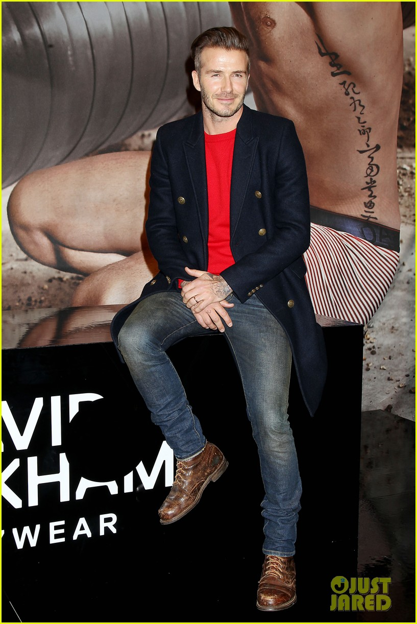 david beckham promotes hm body wear collection nyc 15
